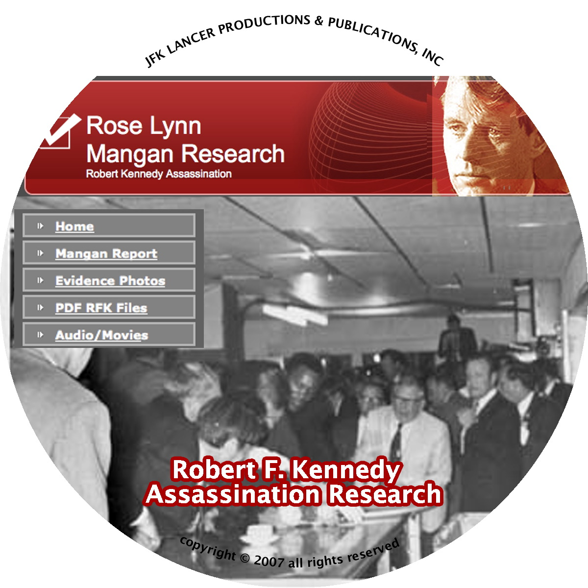 Lynn Mangan RFK Assassination Research